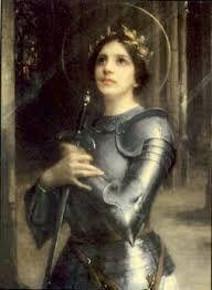 Juana de Arco, también conocida como la Doncella de Orleans (o, en francés, la Pucelle) (en francés: Jeanne d'Arc; Domrémy, 6 de enero de 1412 – Ruan, 30 de mayo de 1431), fue una heroína, militar y santa francesa. La mañana del 30 de mayo de 1431, hace 582 años, fue atada a una estaca y quemada viva en la plaza del Mercado Viejo de Ruán, al noroeste de Francia, y sus cenizas fueron arrojadas al río Sena. En 1920 fue declarada santa por el papa Benedicto XV.