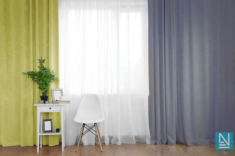 Combinar cortinas est de moda 6 combinaciones que debes conocer