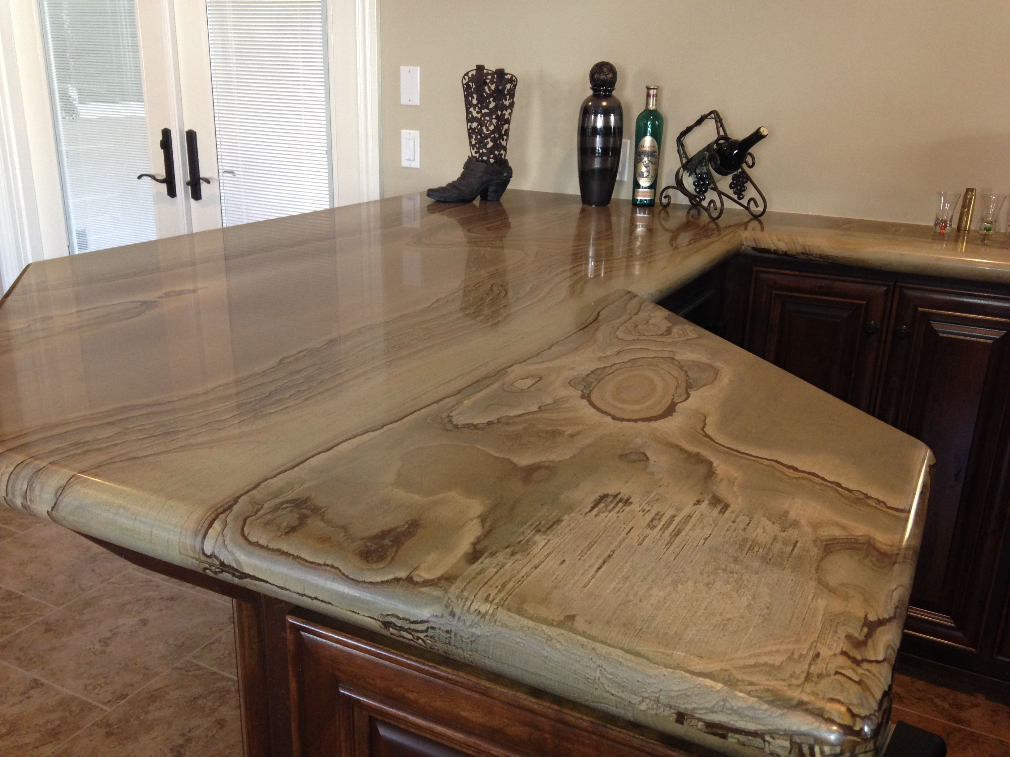 Very Cool Countertop Stone But Looks