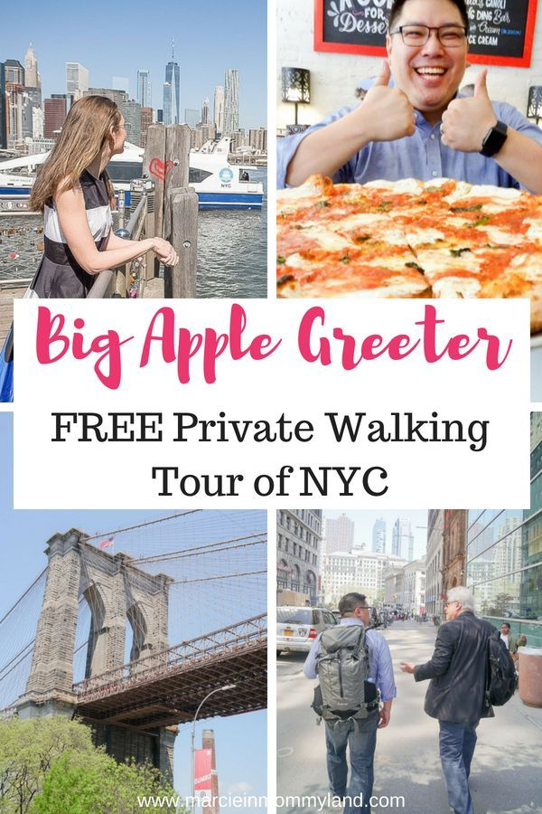 FREE Private Tours Of New York City With Big Apple Greeter