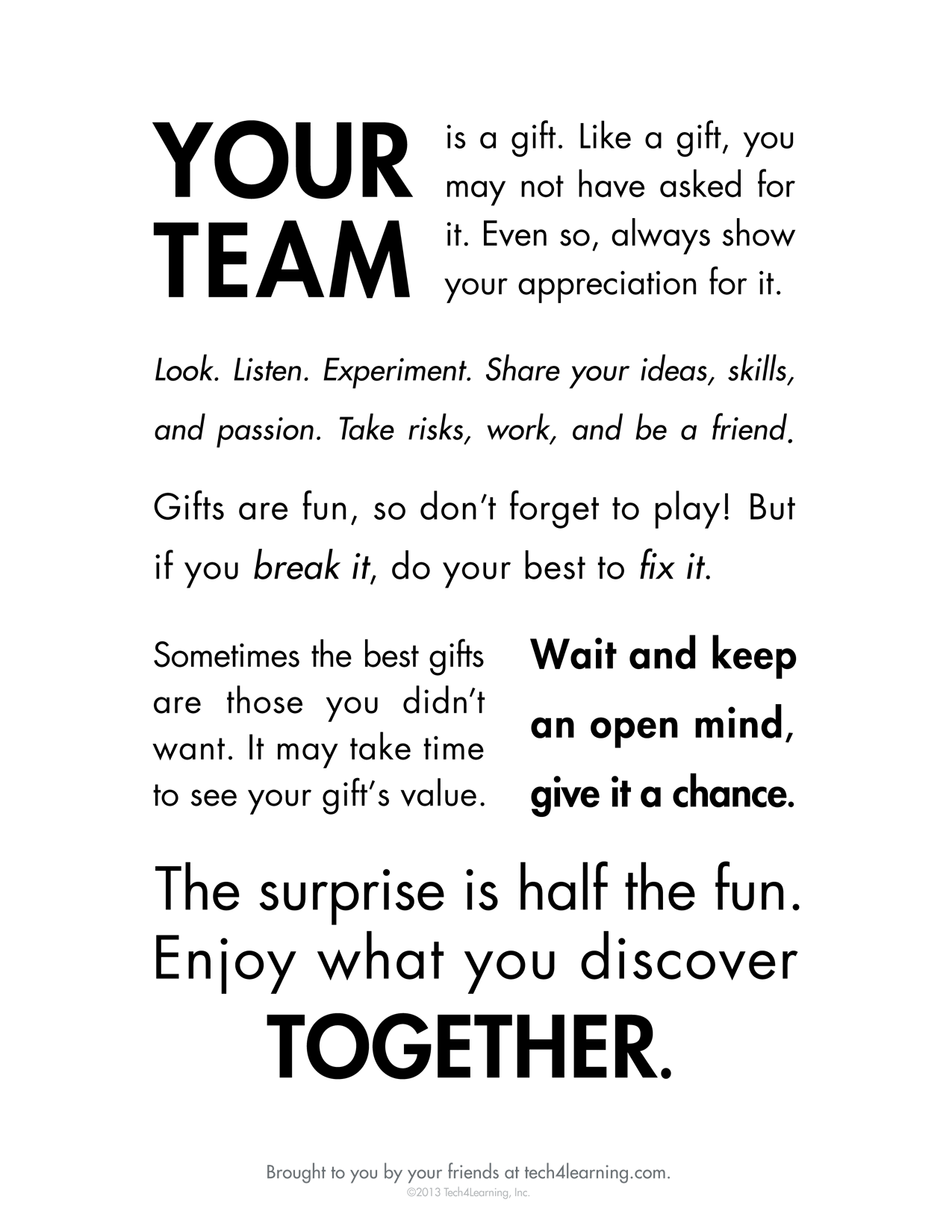 42 INSPIRATIONAL TEAMWORK QUOTES.... - Godfather Style
