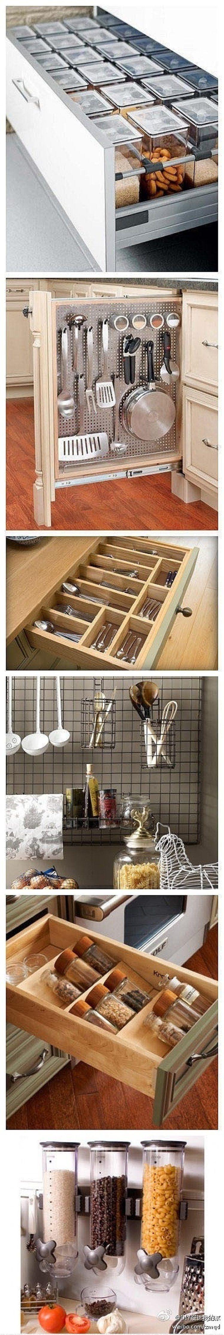 Praktyczne schowki i szuflady