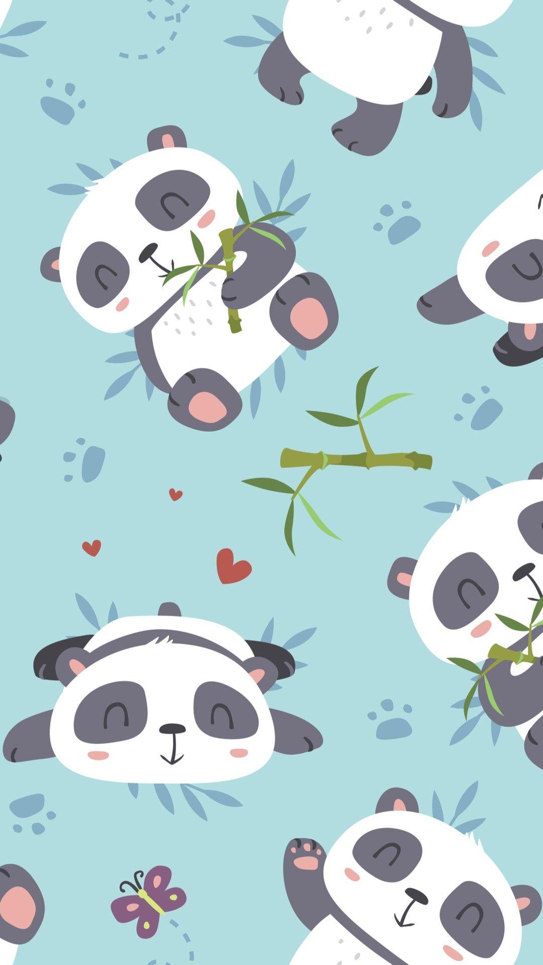 Fondos De Pantalla Cute Panda Wallpaper Panda Wallpapers Wallpaper Iphone Cute