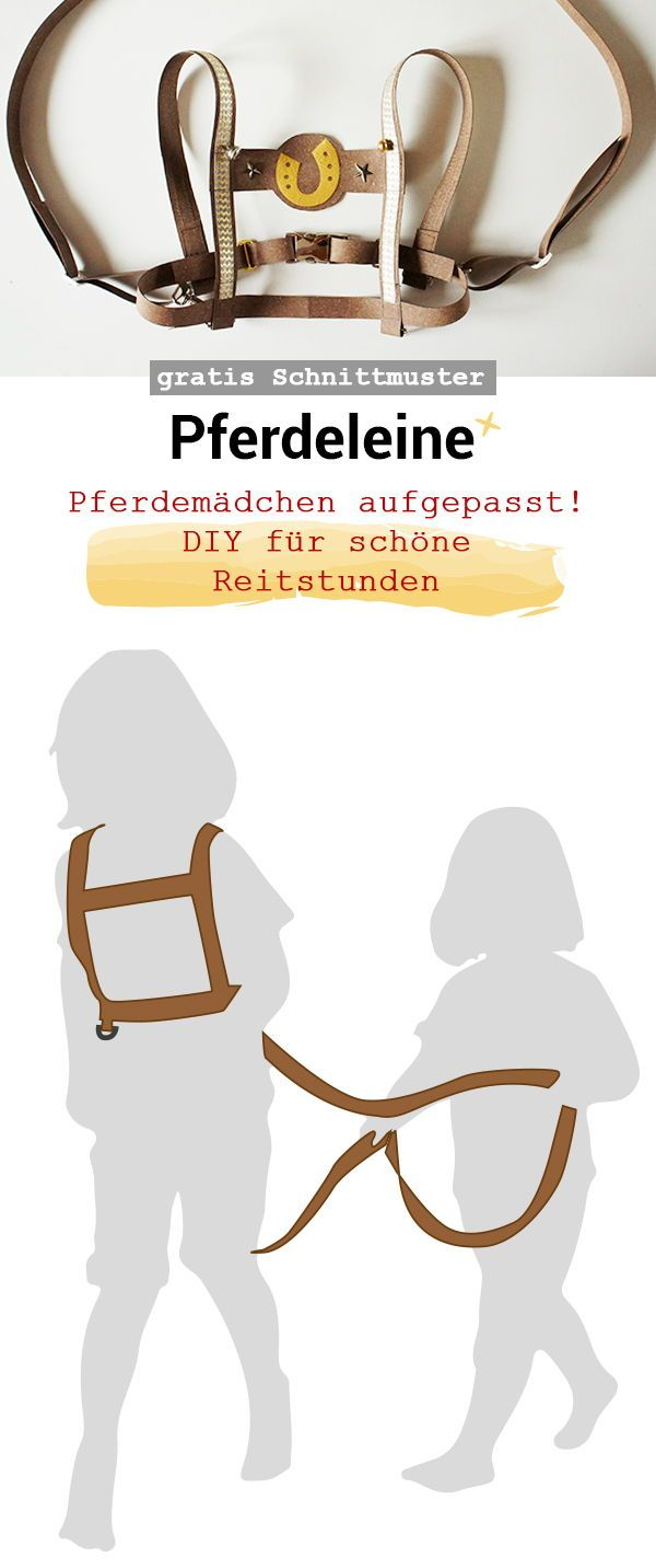 Pferdeleine   NÄHEN: Leder, Releda, Kunstleder   DIY, Diy ...