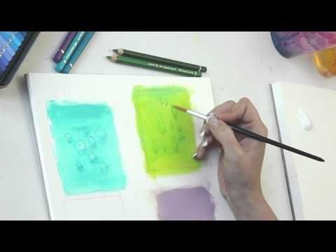 Wie Verwende Ich Aquarellstifte Aquarell Stifte Aquarell