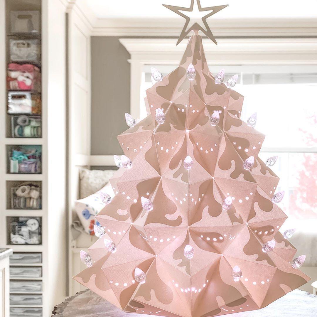 """SVGCuts on Instagram """"Heirloom Christmas Tree"""