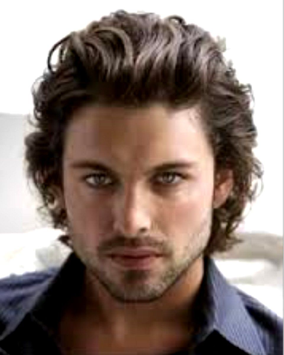 European Virgin Hair Men Toupee In 2020 Wavy Hair Men Curly