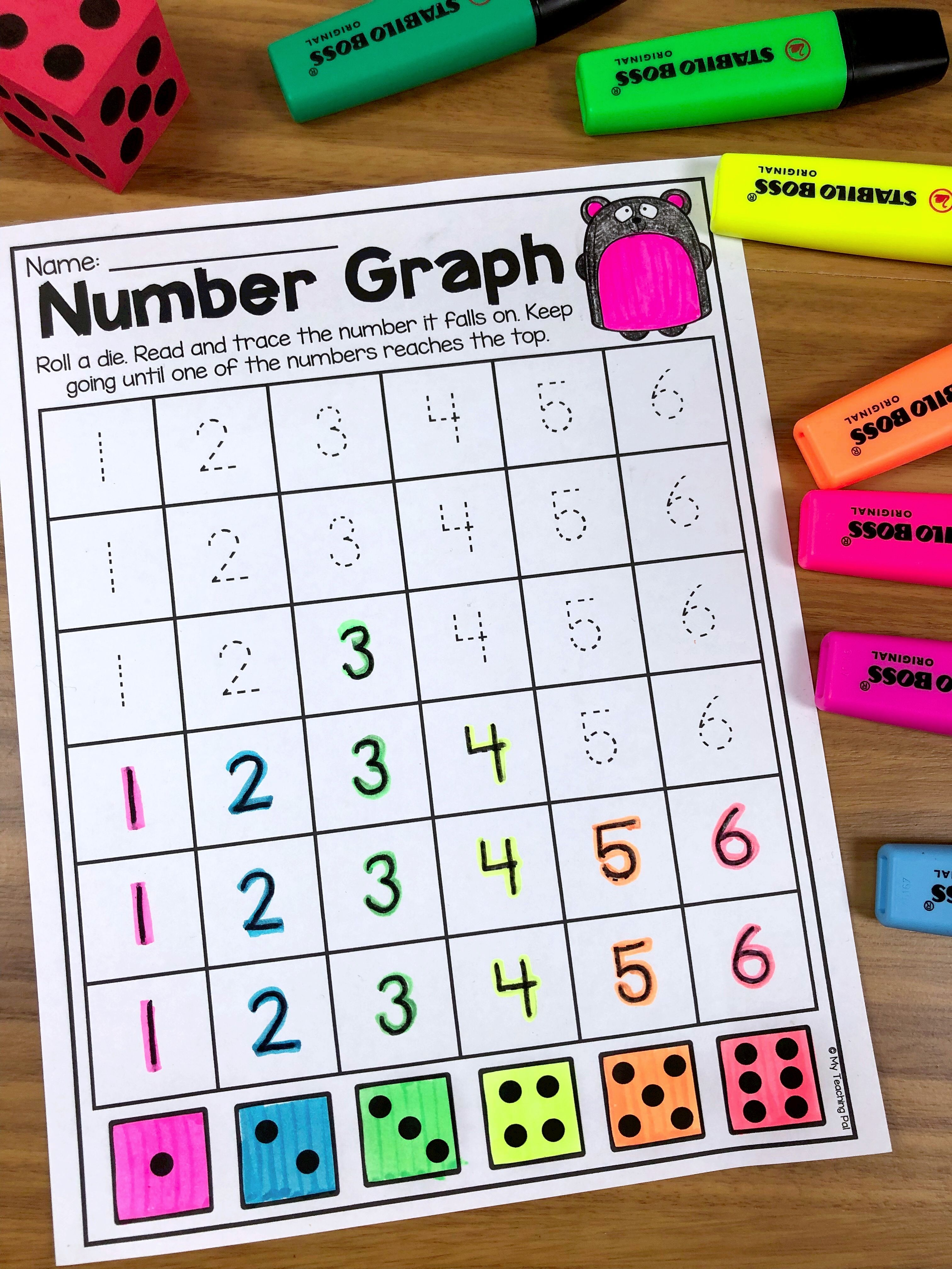 Kindergarten Numbers To 20 Worksheet Pack