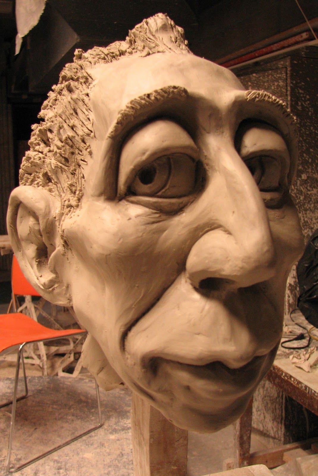 clay caricature Google zoeken Sculpture clay, Caricature