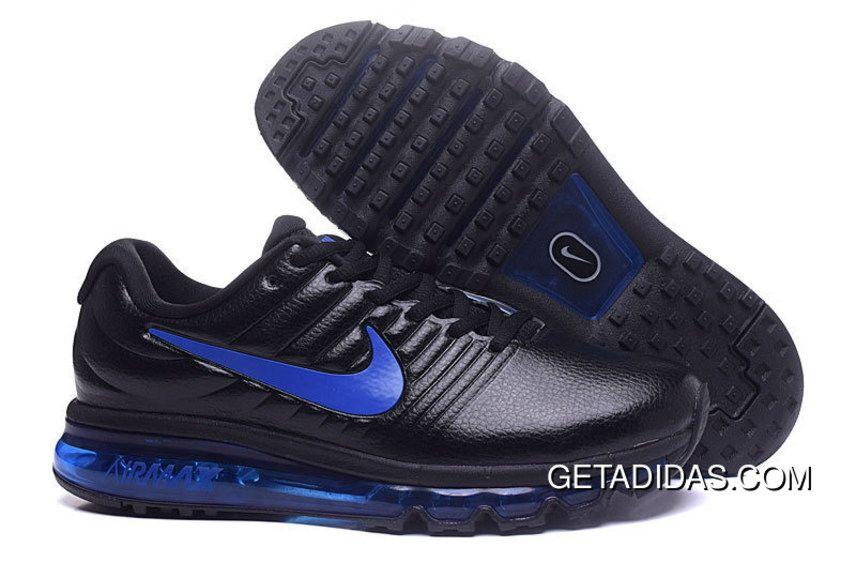 720af27e1c Nike Airmax 2017 Leather Blue Black TopDeals, Price: $87.04 - Adidas  Shoes,Adidas Nmd,Superstar,Originals
