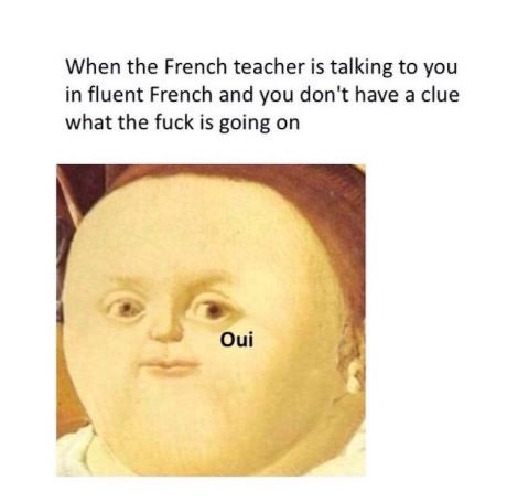 Omelette Du Fromage Oui Oui Memes Sarcastic French Meme Funny French