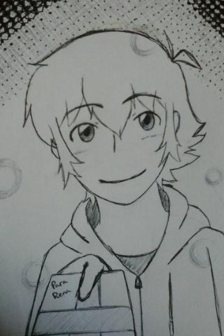 Sam, my original character, my cute boy