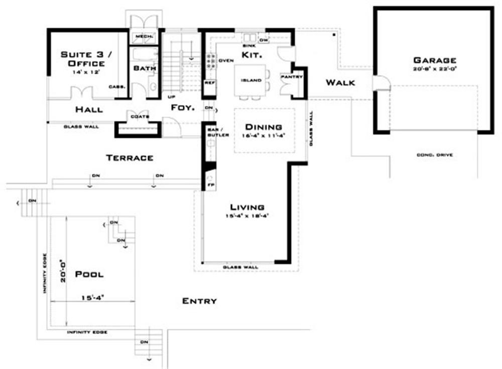 Planos de viviendas planos de casas modernas dream for Planos de casas modernas