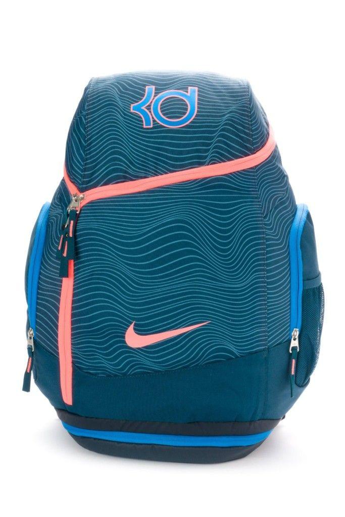 NIKE KD MAX AIR KEVIN DURANT Basketball Backpack Bookbag BA4853-448 ...