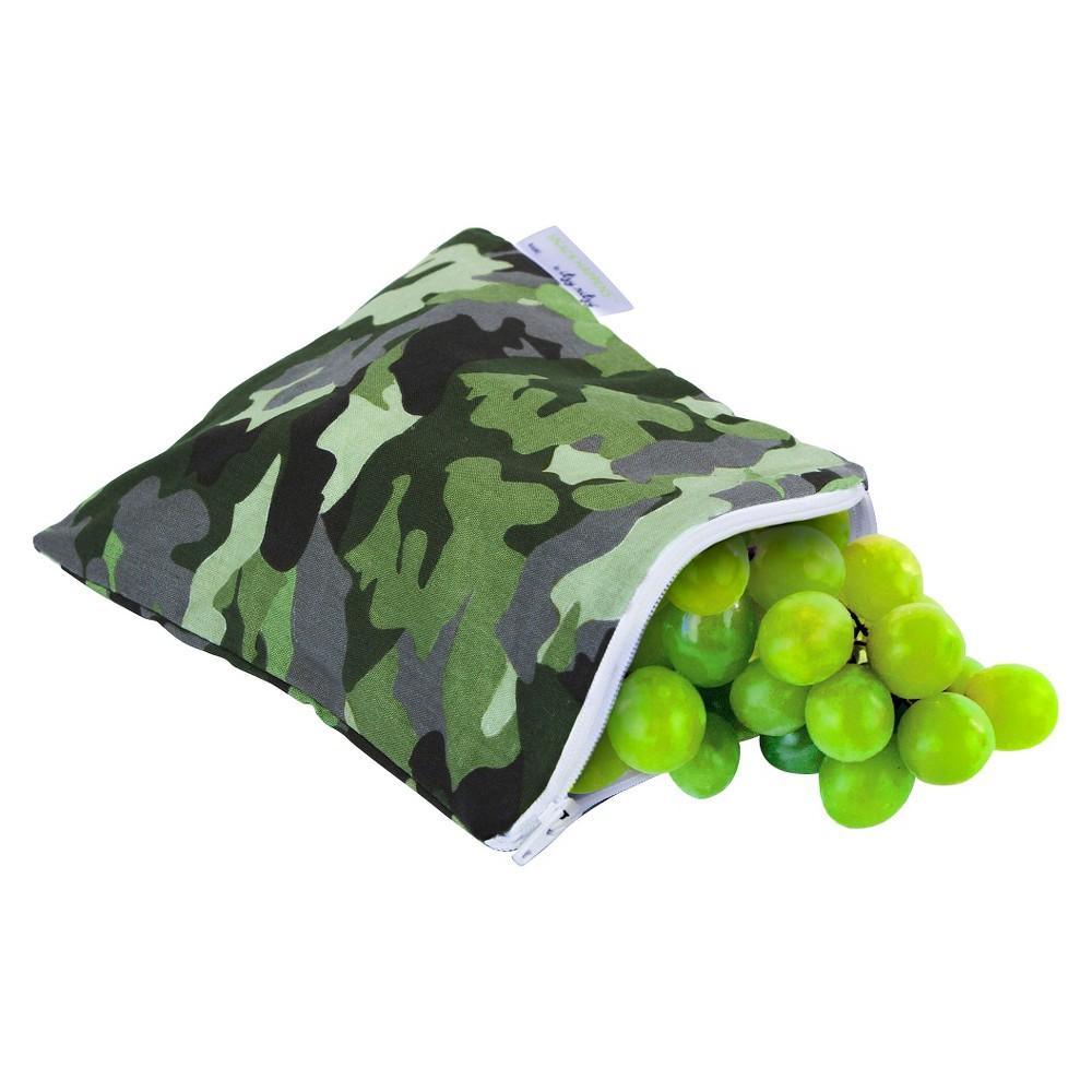 Itzy Ritzy Snack Happens-Camo - Green,