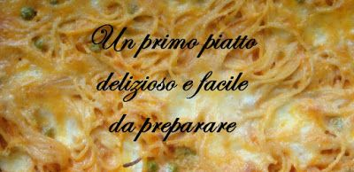 TUTTI INSIEME: Spaghetti gratin