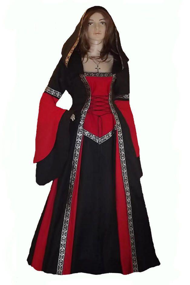 Mittelalter - Gewand*Mittelalter*Kleid*auf Maß in allen Größen - ein ...