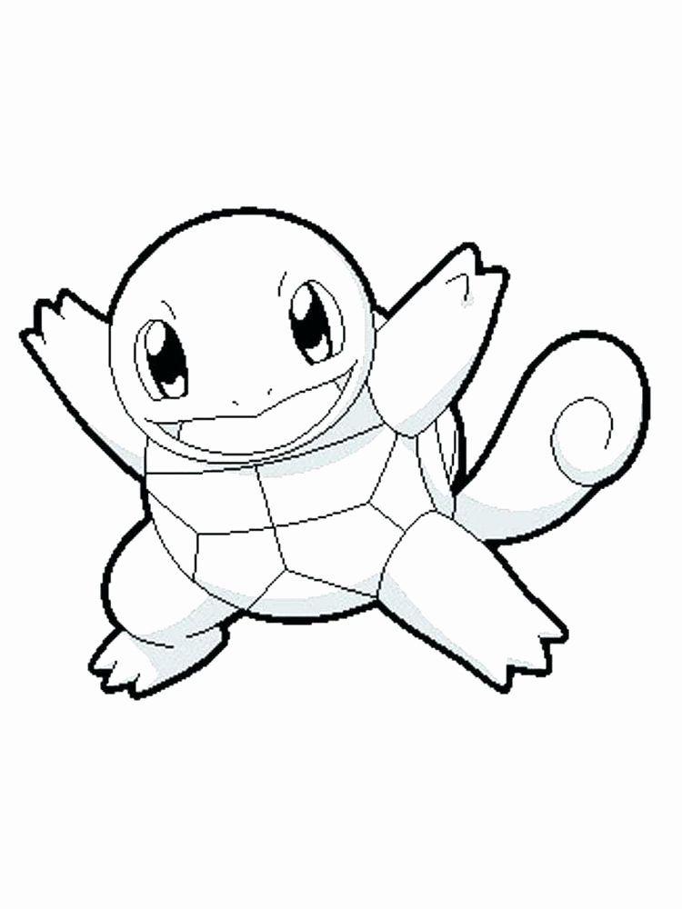 Squirtle Pokemon Coloring Page Elegant Pokemon Free Coloring Pages In 2020 Pokemon Coloring Pages Turtle Coloring Pages Pokemon Coloring