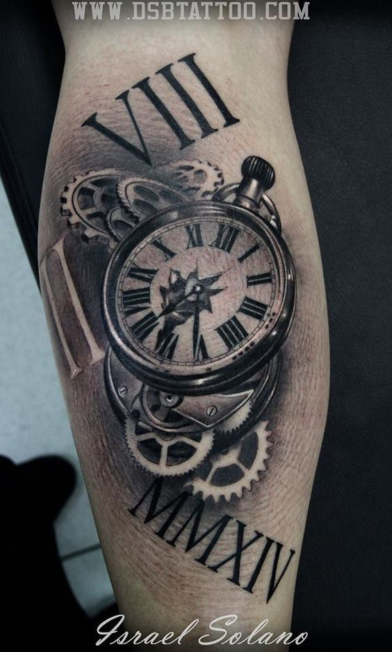 Pin By Ivan Novak On Mehanic Pinterest Tatouage Montre Tatouage