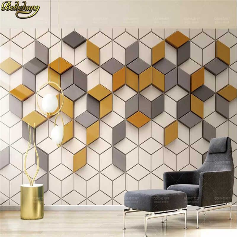 Beibehang Custom Yellow Mosaic Mural Living Room Office Wallpaper For Wall Papers Home Decor 3d Photo Wallpapers For Living Room Wall Covering Cloth Wallpaperwa Living Room Wall Wallpaper Wall Wallpaper 3d Wallpaper Living #wallpaper #for #living #room #wall