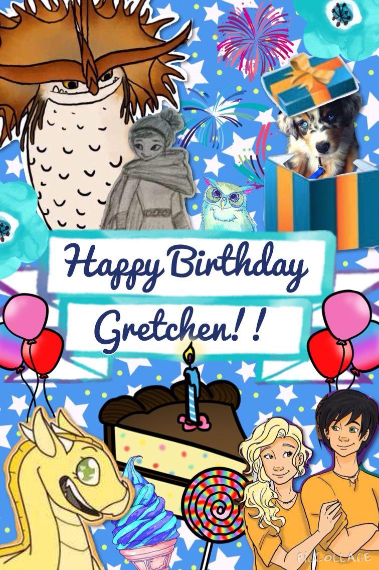 happy birthday gretchen  virtual birthday cards