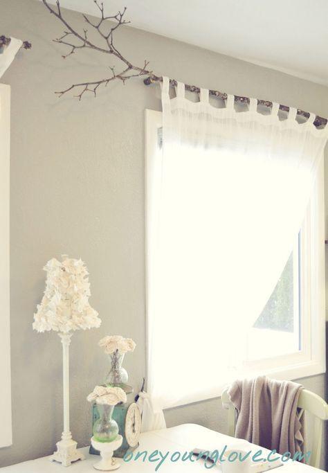 Vorhang Aufhängen pin abete auf wohnen gardinenstangen neue wohnung