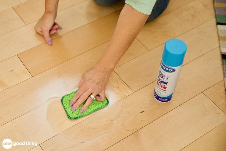 How To Remove Hazy Residue From Hardwood Floors One Good Thing By Jillee Cleaning Wood Floors Prefinished Hardwood Diy Wood Floors