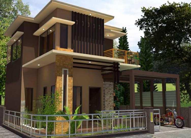 10 Tampak Depan Rumah Minimalis Batu Alam Rumah Minimalis