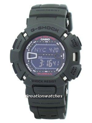 Casio G-Shock Mudman G-9000-3V G-9000-3 Men s Watch  4ca2a1bb50