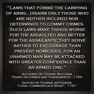 from cesare beccaria essay on crimes and punishments  cesare beccaria essay on crimes and punishments quoted by thomas jefferson in legal commonplace book