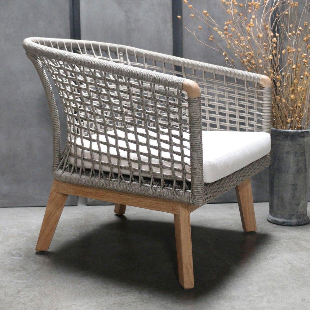 Ravoli Relaxing Chair Cushion Teak Garden Furniture Teak