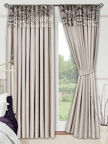 Mink Living Room Decor: Faux Silk Crush Mink Curtains From Curtains 2go