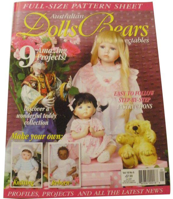 DOLLS BEARS & COLLECTABLES Australian Magazine by michelledolls, $6.00