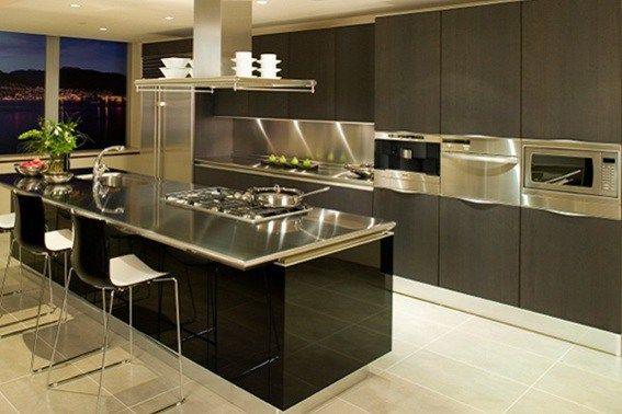 diseño cocina moderna | Small Kitchen Layout | Pinterest | Cocina ...