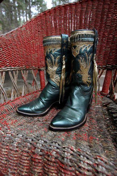 Boots, Custom cowboy boots