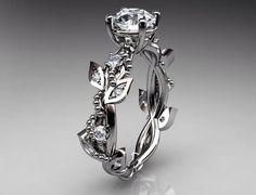 Rose Shaped Wedding Ring staruptalentcom
