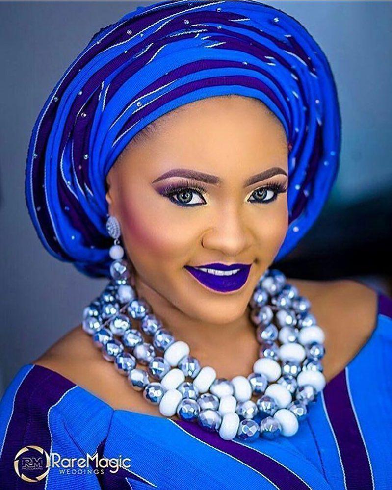 #asoebi #asoebispecial #speciallovers #wedding #makeup @deeqlooks  Beads by @rochem_iyaileke  @raremagic_gallery