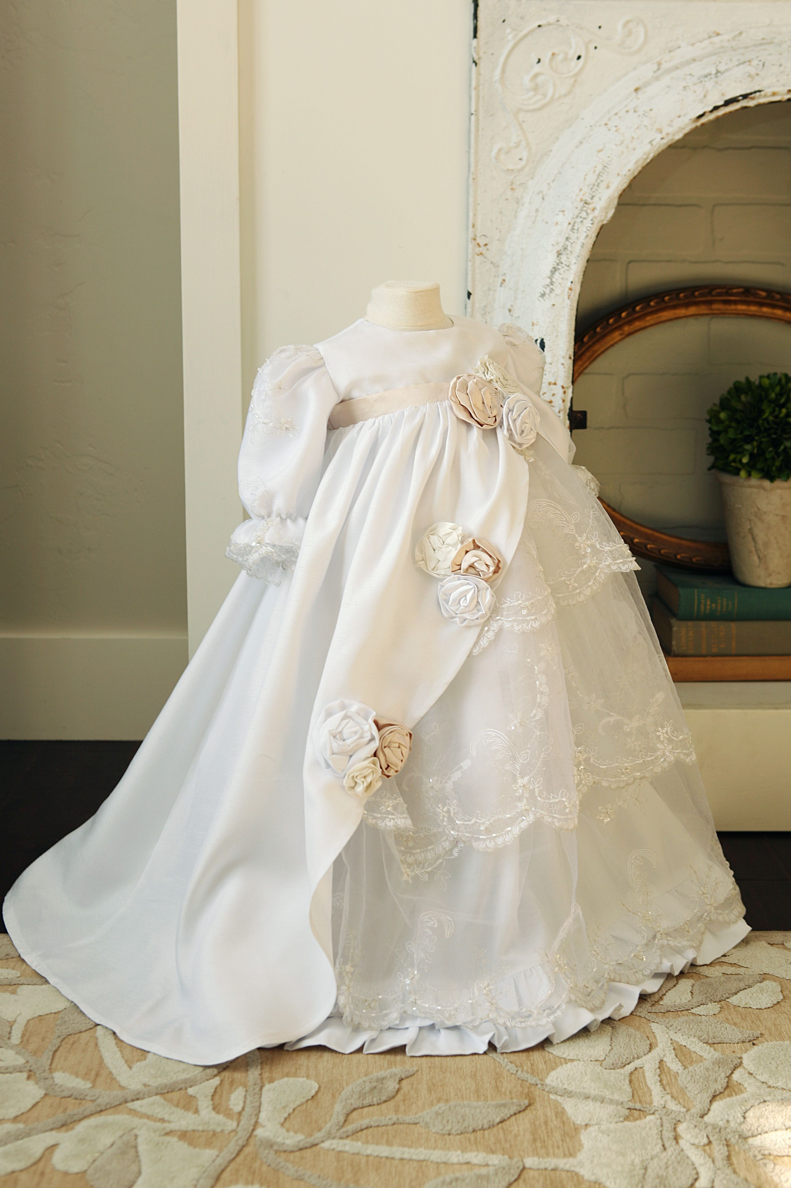 56859589e88 A New baby girl blessing or baptism dress!  ) Silk