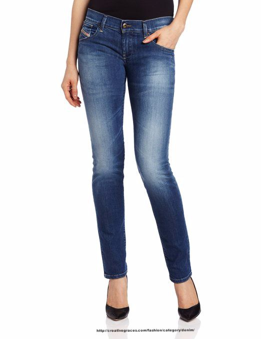 Diesel Women's Getlegg Slim Skinny Leg Jean | Denim Shop ...