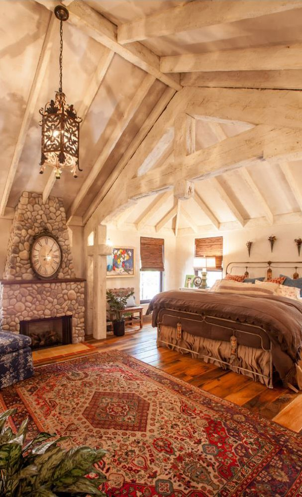 Rustic Master Bedroom: Rustic Bedroom Design, Farmhouse