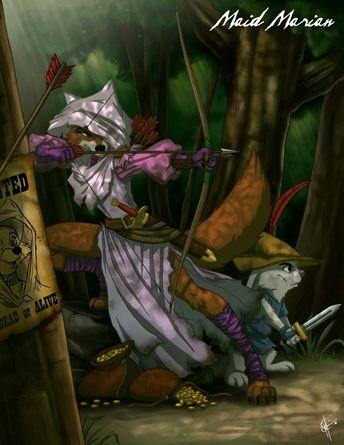 Evil Princess - Lady Marian from Robin Hood  Halloween theme