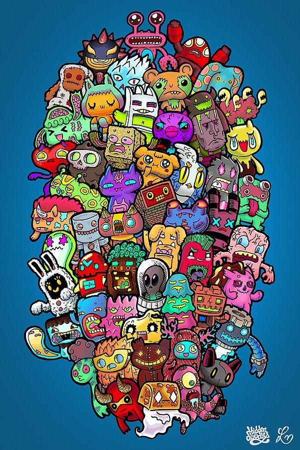 Inspirasi Olahraga Doodles Games Doodle Art Designs Doodle Monster Kawaii Doodles Graffiti