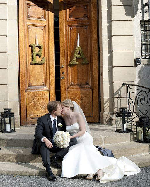 Wedding Reception Venues In Portsmouth: Fall Wedding At Glen Manor House In Portsmouth, RI. Moss