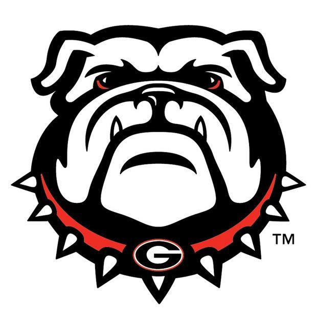 new uga bulldog logo designed by the folks at nike uga stuff rh pinterest co uk georgia bulldog clipart png georgia bulldog mascot clipart