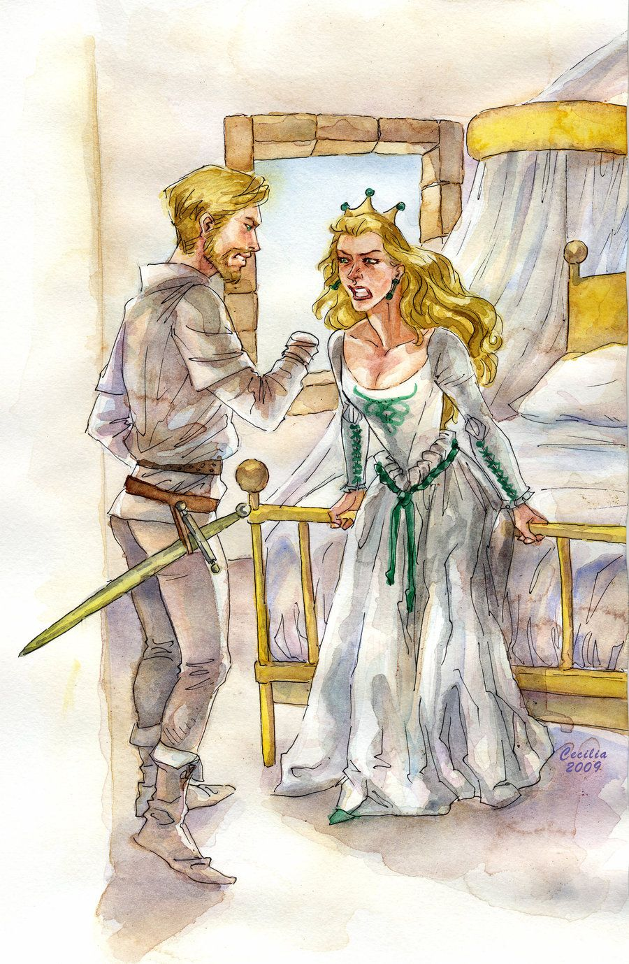 Cersei and Jaime 2 by cabepfir on deviantART | Game of ... | 900 x 1379 jpeg 278kB