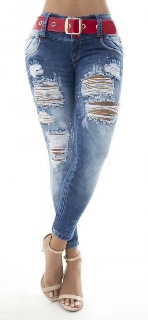 Jeans levanta cola lujuria 86167