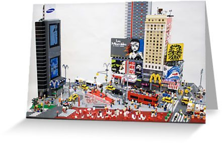 Sean Kenney - Art with LEGO bricks : Posters, cards, and prints.