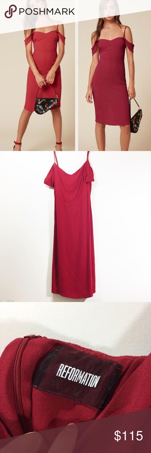 Reformation Rena Dress | Clothes design, Dresses