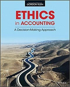 Ethics in accounting a decision making approach 1st edition ethics in accounting a decision making approach 1st edition solutions manual gordon klein free download sample fandeluxe Gallery