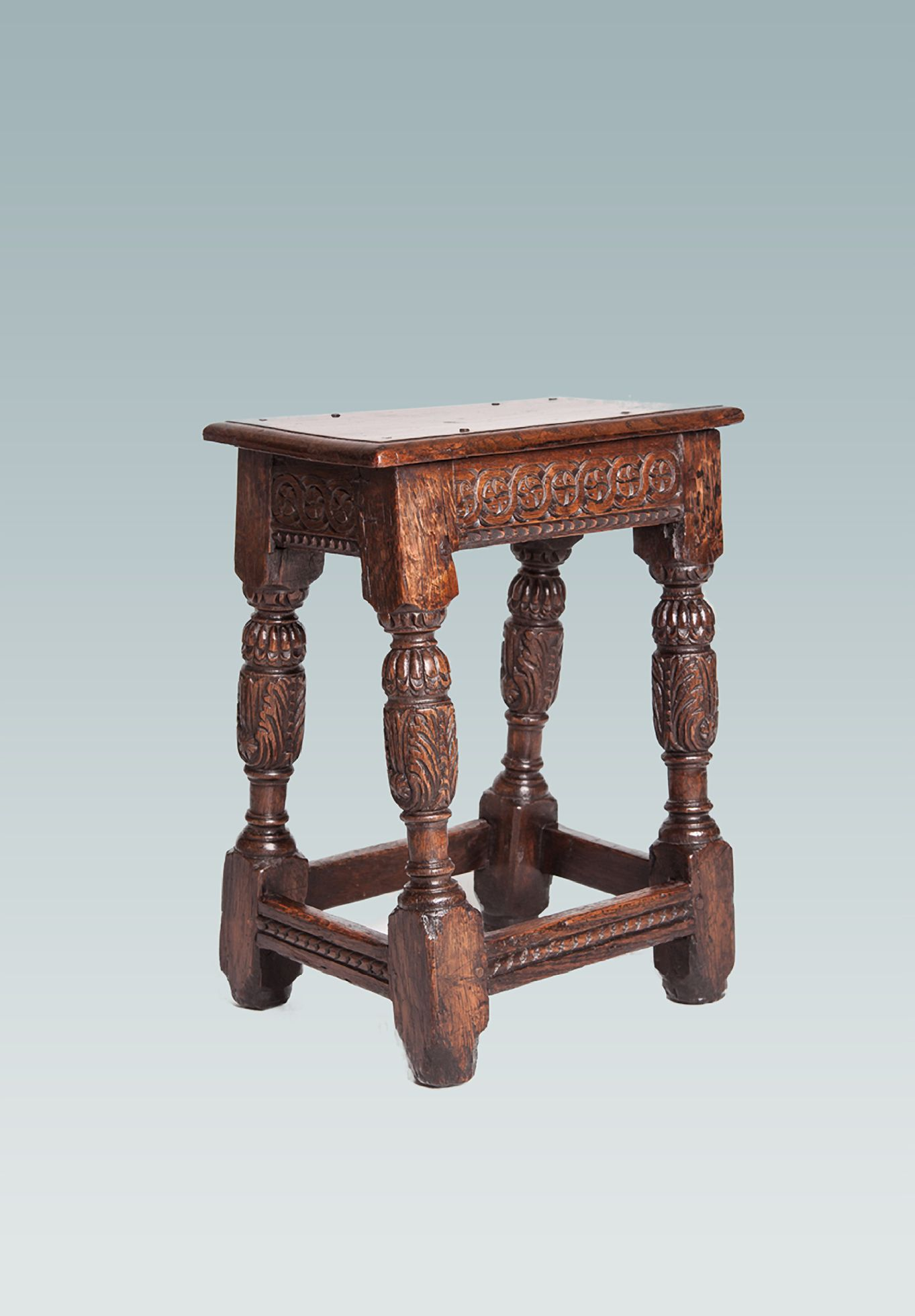 Elizabethan Joint Stool Marhamchurch Antiques Other